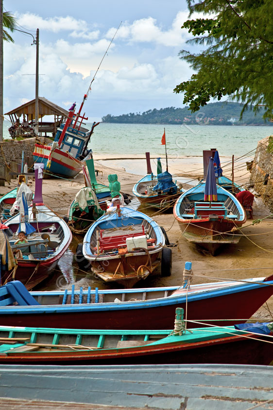 Fishing Boats, Bang Tao
